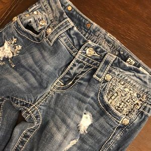 Miss Me Jeans - MISS ME JEANS SIZE 26 SIGNATURE SKINNY